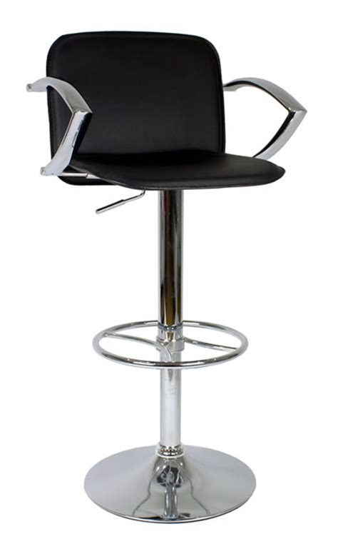 Bar Stool With Arm Rests by Kitchen Bar Breakfast Bar Stools With Arm Rests Chrome