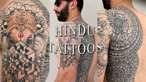 hindu tattoos for men hindu tattoos