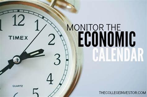 Investing Economic Calendar Investing Tip 298 Monitor The Economic Calendar The