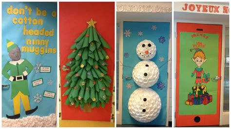 christmas themes for nursing home christmas door decorations with a train best images