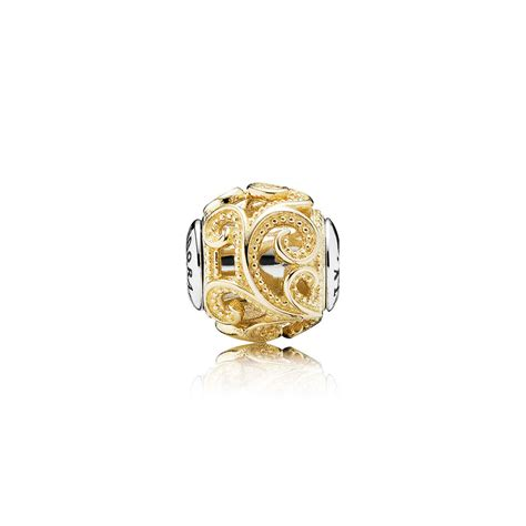 pandora charms creativity gold essence charm pandora pandora estore