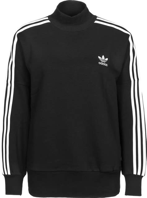 Sweater Adidas 3 Colors adidas 3 stripes turtleneck w sweater black white weare shop