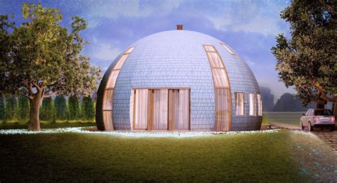 dome home gorgeous russian dome home of the future withstands