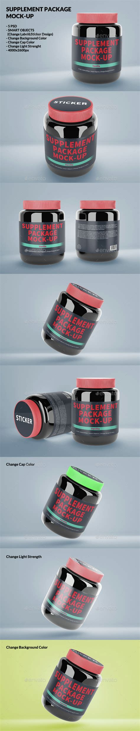 supplement packages supplement package mock up by nawczoraj graphicriver