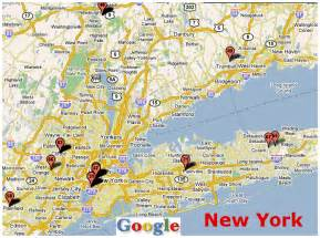 Map Of New York City Area by Map Of New Jersey And New York City
