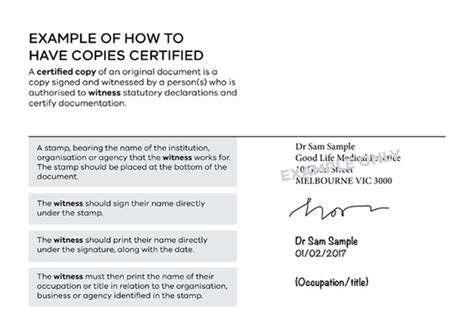Certifying Documents Wording how to certify your documents live in melbourne