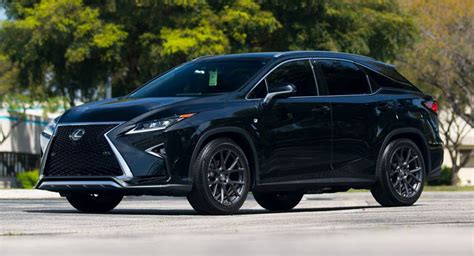 lexus rx black 2017 custom wheels help this lexus rx transition to the side