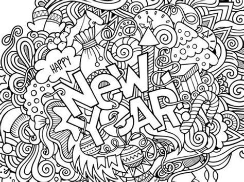 new year s colors happy new year coloring pages coloring pages
