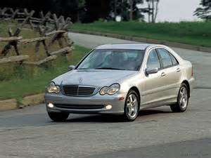 2003 mercedes c class sedan specifications pictures