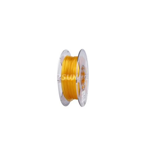 Pla 175mm Filamen 3d Printer Filament Orange Quality esun pla filament 1 75mm orange transparent 0 5kg