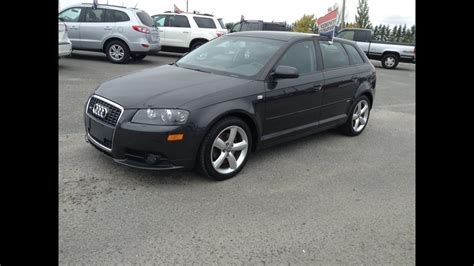 audi a3 wagon 2008 audi a3 quattro wagon start up exhaust and in depth