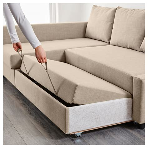 sleeper sofa bed with storage ikea manstad corner sofa bed thesofa