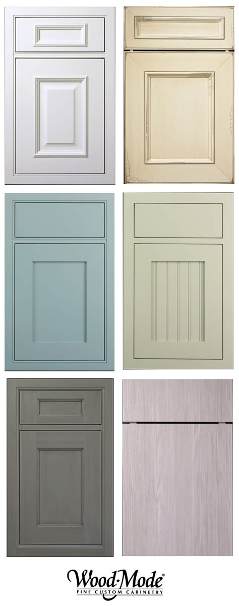 kitchen cabinet door fronts endless options wood mode cabinetry simplified bee