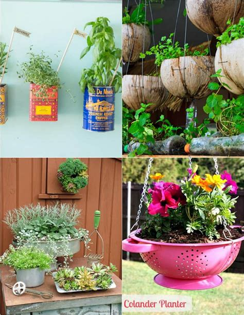 Creative Planters by How To Turn Anything Into A Planter 32 Creative Diy Planter Tutorials A Of Rainbow