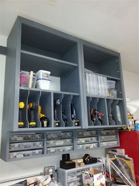 workshop power tool storage ideas woodworking projects