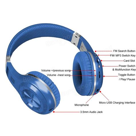 Bluedio H Turbine Headset Bluetooth V4 1 bluedio h turbine wireless bluetooth 4 1 stereo headset