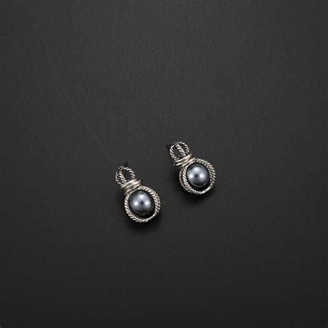 R51253 Fashion Silver Color Pearl fashion silver color pearls decorated simple jewelry sets asujewelry