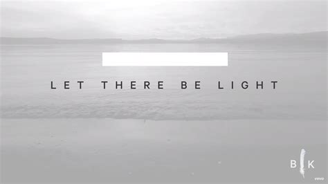 let there be light bryan and torwalt lyrics and