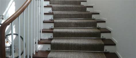 treppen teppich der treppenteppich als akzent im eingangsbereich
