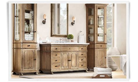 Bathroom Wall Cabinets Restoration Hardware Rooms Restoration Hardware Bathroom Ideas