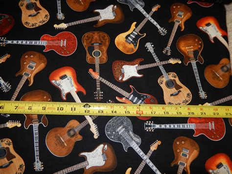 printable acoustic fabric guitar guitars electric acoustic music instrument sound
