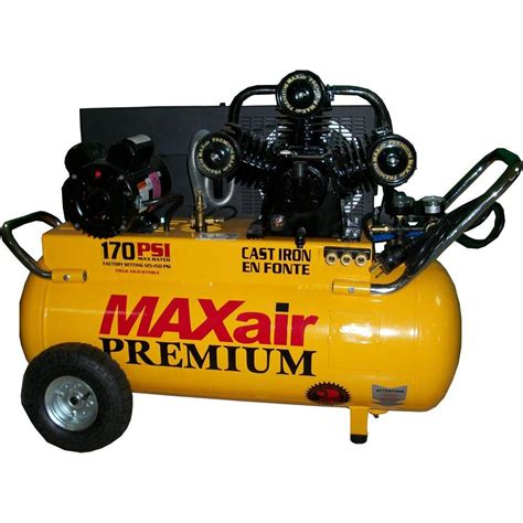 maxair 25 gal portable electric powered air compressor p5125h1 map the home depot