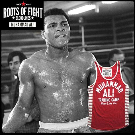 Muhammad Ali Back To His Roots by Roots Of Fight Ali C Striped Tank