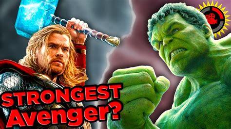 film education thor film theory is thor stronger than the hulk thor rag