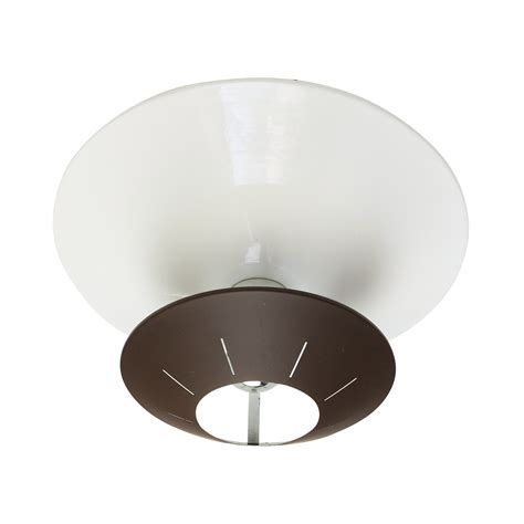 space ceiling light brown space age wall ceiling light by louis kalff