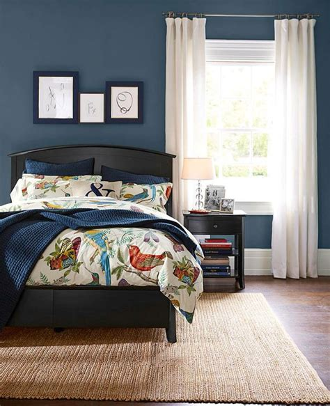 sherwin williams denim home paint colors bed wall and bedroom paint colors