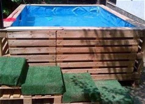 diy pallet swimming pool pallets designs