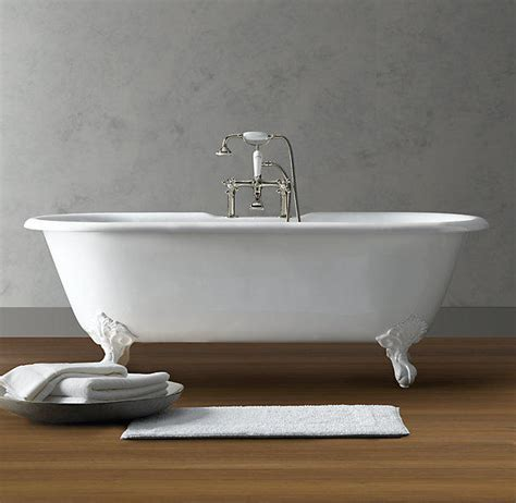 restoration hardware bathtubs vintage imperial clawfoot soaking tub from restoration
