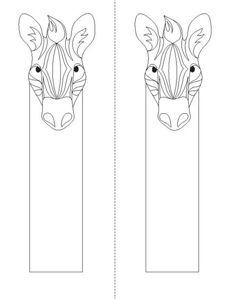 bookmarks to color bookmarks to color animal coloring bookmarks 171 children