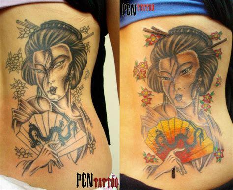 gueixa pen tattoo tatuagem s 227 o jos 233 dos campos