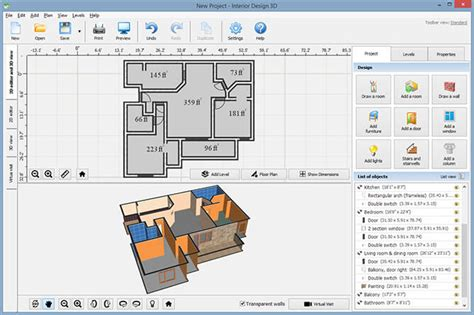 interior design floor plan software interior design 3d 3 25 software digital digest