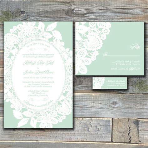 25  Best Ideas about Mint Wedding Invitations on Pinterest