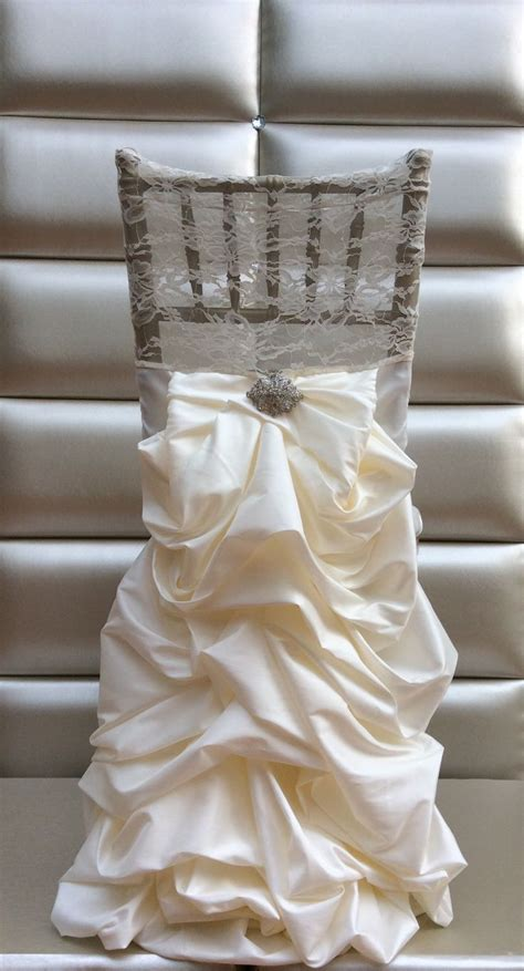 wedding chair slipcovers 94 best chair tie back images on pinterest wedding