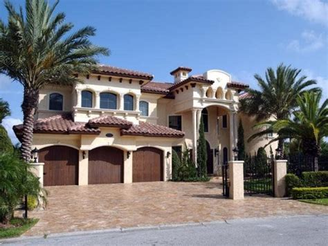 Spanish House Plans | spanish hacienda style homes spanish mediterranean house