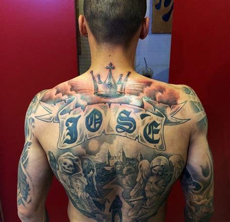 tattoo ali schiena uomo serie a ink la top 10 dei calciatori pi 249 tatuati foto