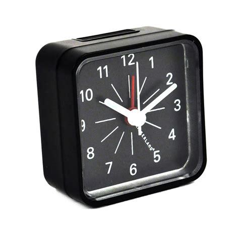 classic travel alarm clock pink cat shop