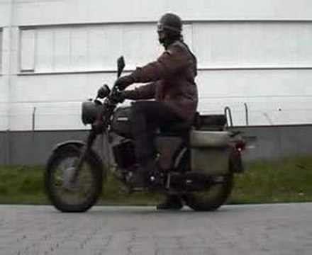Mz Motorrad Bundeswehr by Motorradtour Mit Der Hercules K125 Bw Funnycat Tv