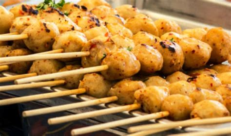 cara membuat cilok bakar saus barbeque resep dan cara membuat cilok bakar bumbu barbeque pedas