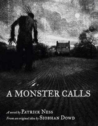 libro a monster calls cadena de la biblioteca de ilium