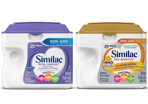 similac total comfort ready to feed similac total comfort vs similac pro sensitive