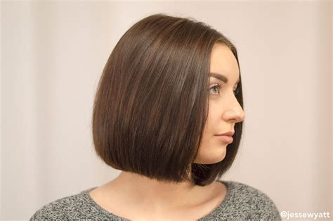 haircut chicago o hare chicago bob hairstyle bob cuts jesse wyatt hairstylist