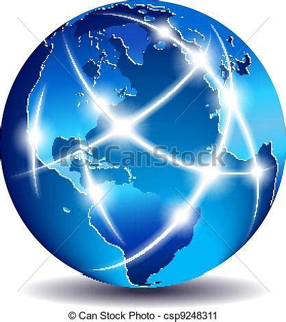 clipart mondo clipart vettoriali di comunicazione mondo globale