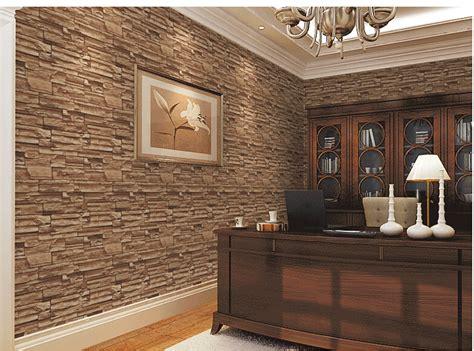 Formidable Salle A Manger Stone But #3: 3D-salle-à-manger-pierre-brique-conception-revêtement-mural-TV-mur-de-fond-vinyle-Ikea-papier.jpg