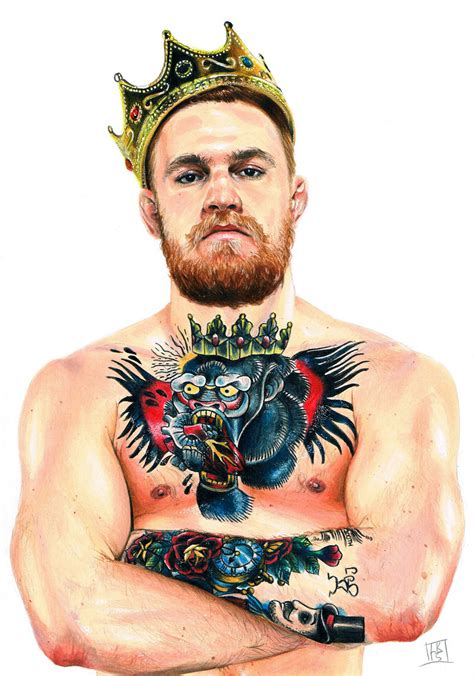 conor mcgregor drawing by lornakelleherart on deviantart