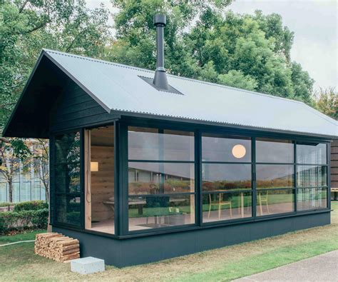 japanese micro huts   challenging