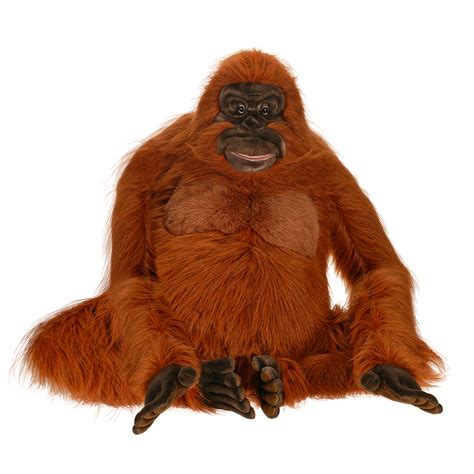 hansa creation   life size orangutan stuffed animal